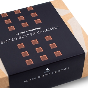 Double Layer Salted Butter Caramels