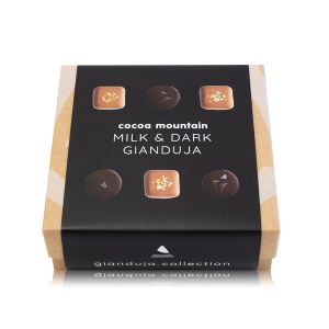 Dark & Milk Chocolate Hazelnut Gianduja