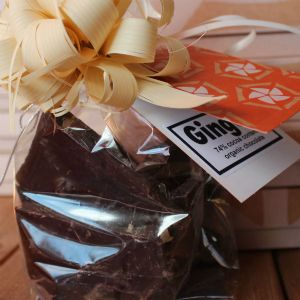 Dark Organic Chocolate with Ginger