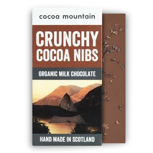 2 Milk Chocolate Bars with Crunchy Nibs