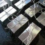 Truffle Favours - Silver Cord Ribbon