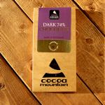2 Organic 74% Cocoa Chocolate Bars