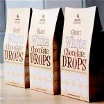 Giant Organic White Chocolate Drops