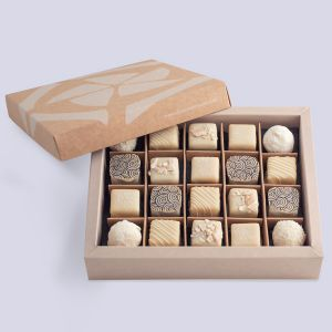 Double Layer White Chocolate Collection